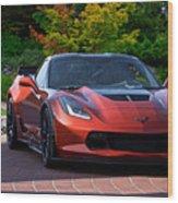 201x  Corvette 'copperhead' C7 Wood Print