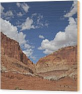 Capitol Reef National Park Wood Print