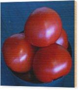 209 Tomatoes Wood Print