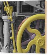 20th Century Mechanical Machinery Sc Wood Print