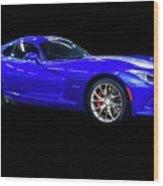 20xx Dodge Viper Sts Wood Print