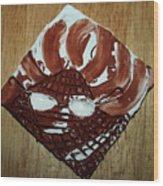 Crazy Pineapple - Tile Wood Print