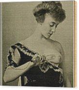 Electro-therapeutics, 1910 Wood Print