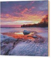 Lake Winnipesaukee Wood Print