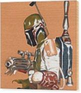 Star Wars Episode 1 Art Wood Print