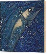 Swordfish Wood Print