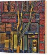 219 Washington Street Wood Print