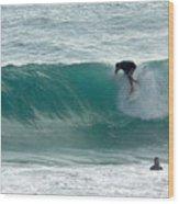 Australia - The Surfer Wood Print