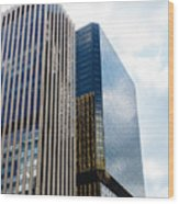 Denver Building Study Wood Print