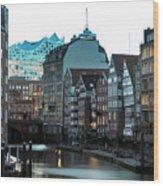 Hamburg - Germany Wood Print