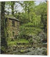Oil Landscape Art Wood Print