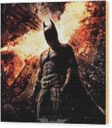 The Dark Knight Rises 2012  Wood Print