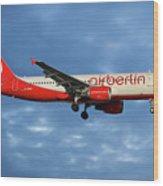 Air Berlin Airbus A320-214 Wood Print