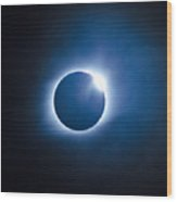 #23 August 2017 Solar Eclipse Wood Print