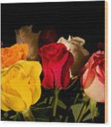 Bouquet Wood Print