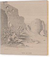 Capital Of Armenia Wood Print