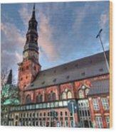 Hamburg Germany Wood Print