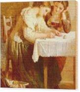 Lejeune Henry Love Letter Henry Lejeune Wood Print