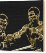Muhammad Ali Collection Wood Print