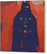 Star Wars At Art Wood Print