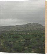 Texas Scenic Landscape Wood Print