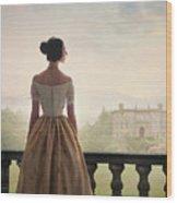 Victorian Woman Wood Print