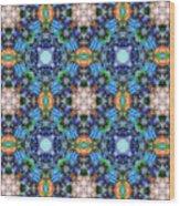 Arabesque 105 Wood Print