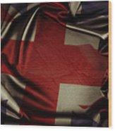 British Flag 5 Wood Print