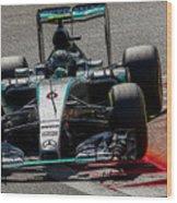 Formula 1 Monza Wood Print