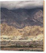 Landscape Of Ladakh Jammu And Kashmir India Wood Print