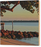 24- Morning In North Palm Beach Wood Print