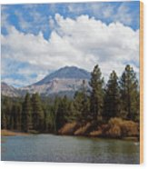 Mt. Lassen National Park Wood Print