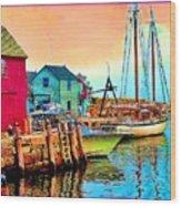 2449   Rockport Wood Print