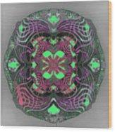 2451 Mandala A Wood Print