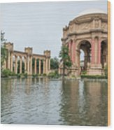 2464- Palace Of Fine Arts Wood Print