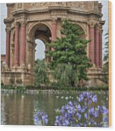 2482- Palace Of Fine Arts Wood Print