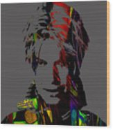 David Bowie Collection Wood Print