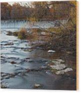 Grand Falls Waterfall Wood Print