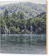 Plitvice Lakes National Park Croatia Wood Print