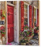 25 Queen Street Wood Print