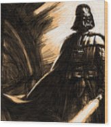 Star Wars For Art Wood Print