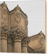 2511- Palace Of Fine Arts Wood Print