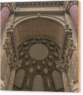2520- Palace Of Fine Arts Wood Print