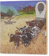 25th Anniversary Santa Fe Trail Association Wood Print