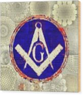 Freemason, Masonic, Symbols 26 Wood Print