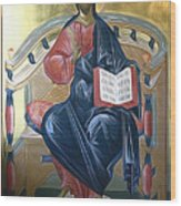 Jesus Christ Savior  Wood Print
