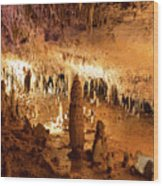 Onondaga Cave Formations Wood Print