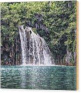 Plitvice Lakes National Park Croatia Wood Print