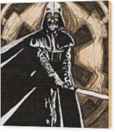 Star Wars On Art Wood Print