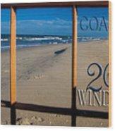 26 Windows Coastal Wood Print
